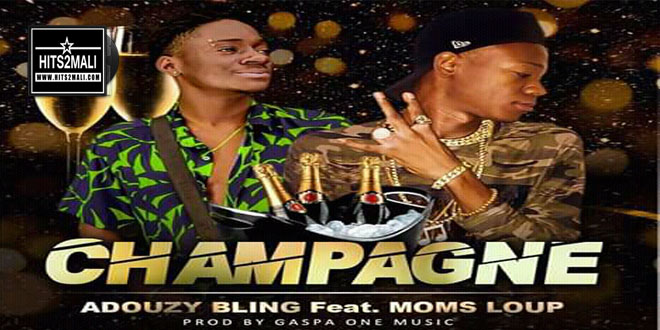 ADOUZY BLING FEAT MOMS LOUP CHAMPAGNE mp3 image
