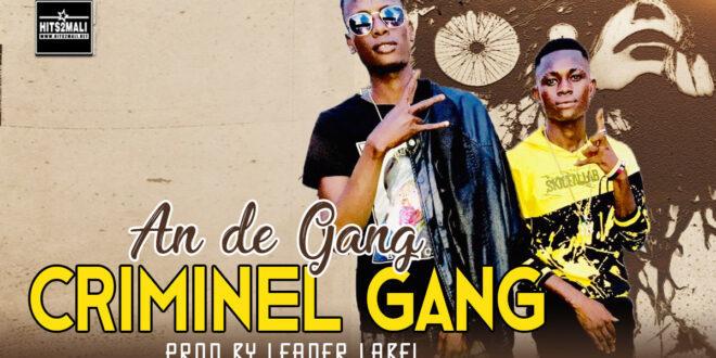 CRIMINEL GANG AN DE GANG mp3 image