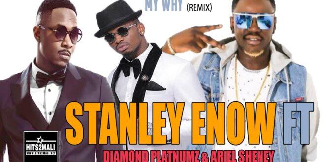 STANLEY ENOW Ft DIAMOND PLATNUMZ ARIEL SHENEY MY WAY Remix mp3 image