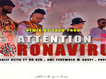SALIF KEITA Ft DR KEB GASPIAMI YEREWOLO ROBOT PAPITO ATTENTION CORONA VIRUS REMIX mp3 image