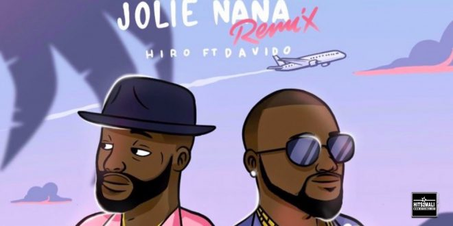 Hiro ft. Davido Jolie Nana Remix Vizualiser YouTube